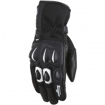 Gants Moto Furygan Cyclone Black White
