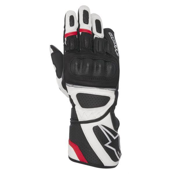 Gants Moto Alpinestars SP Z Drystar Black White Red
