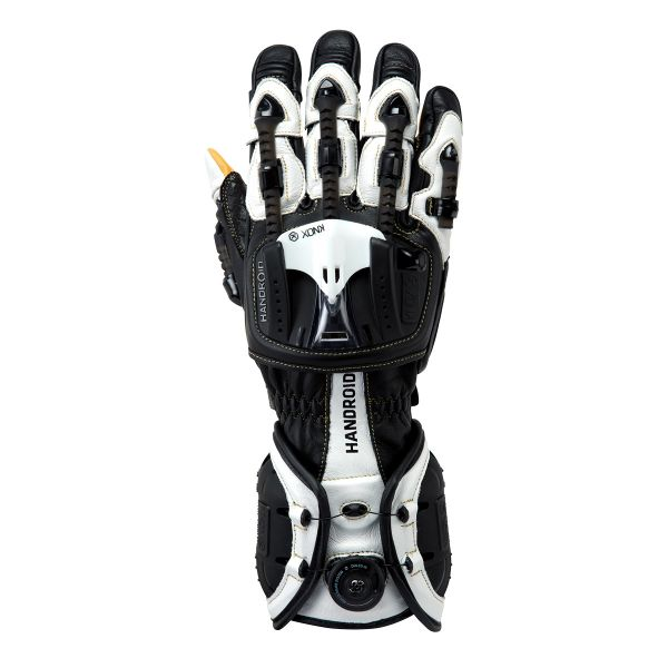 Gants Moto Knox Handroid MKIII Black White