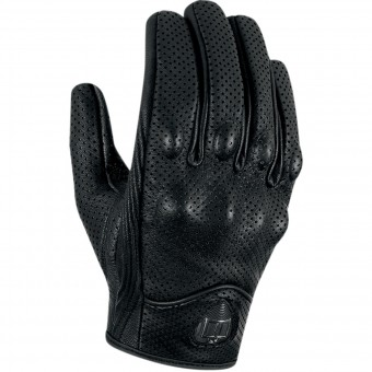 Gants Moto ICON Pursuit Touchscreen Perforated Black