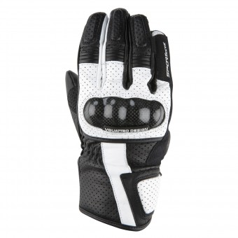 Gants Moto V'Quattro RC-17 Black White