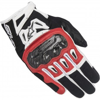Gants Moto Alpinestars SMX-2 Air Carbon V2 Black Red
