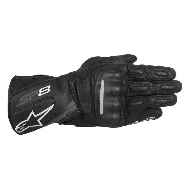 Gants Moto Alpinestars Stella SP-8 V2 Black Dark Grey