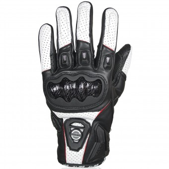 Gants Moto Darts Striker Black White