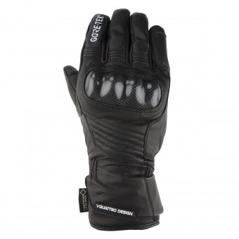 Gants Moto V'Quattro Virage Evo 17 Gore-Tex Black