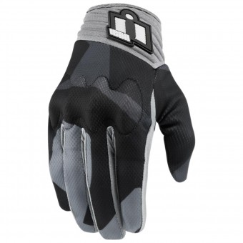 Gants Moto ICON Anthem Deployed Grey