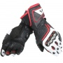 Gants Moto Dainese Carbon D1 Black White Red