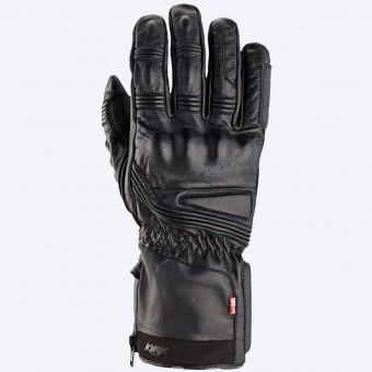 Gants Moto Knox Covert Leather Black