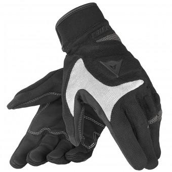 Gants Moto Dainese Desert Poon Black Silver