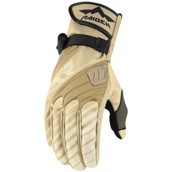 Gants Moto ICON DKR Glove Tan