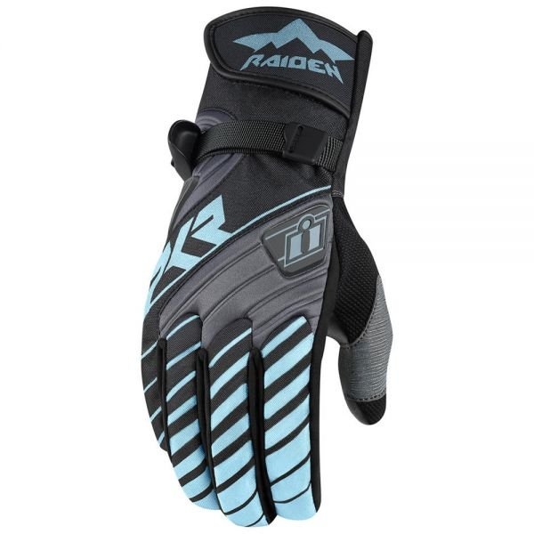 Gants Moto ICON DKR Glove Women Charcoal