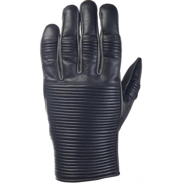 Gants Moto Ride & Sons Emblem Black Charcoal