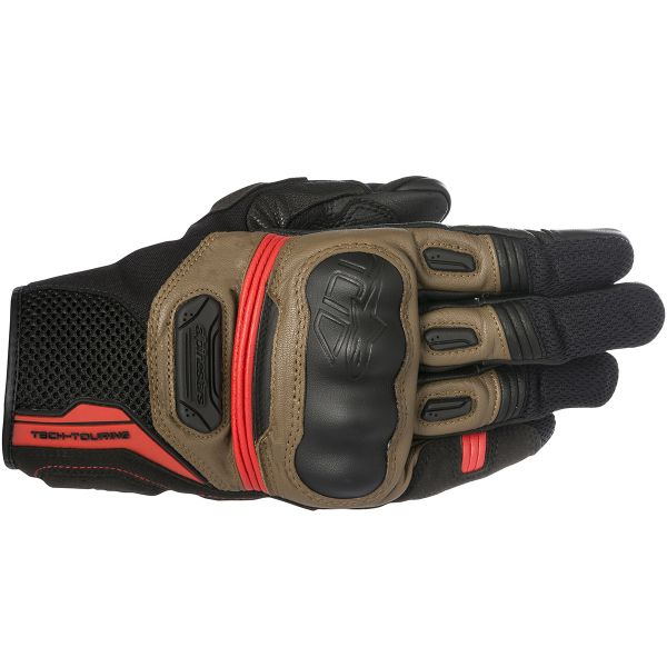 Gants Moto Alpinestars Highlands Black Tobacco