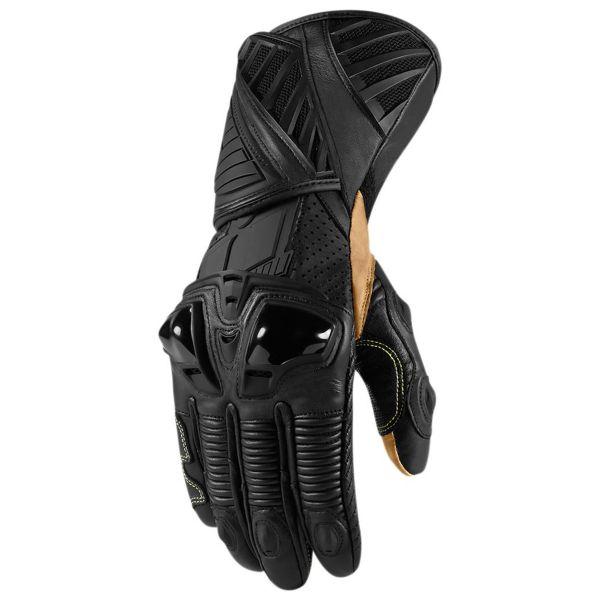 gants moto icon hypersport pro stealth au meilleur prix. Black Bedroom Furniture Sets. Home Design Ideas