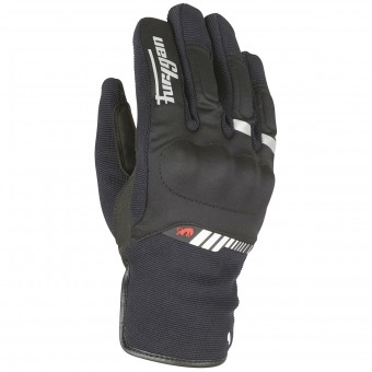 Gants Moto Furygan Jet All Season Black White