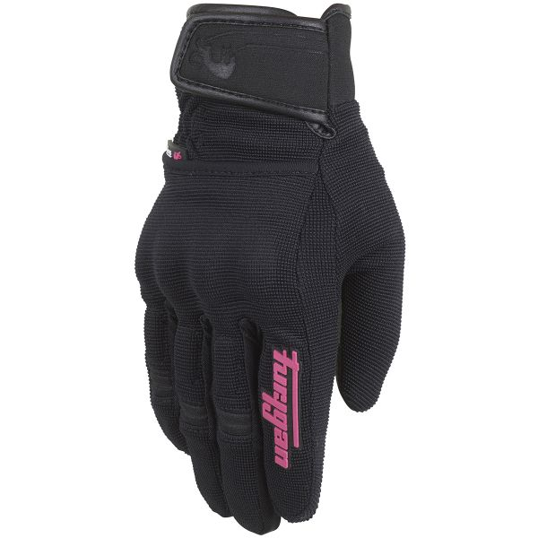 Gants Moto Furygan Jet Evo II Lady Black Pink