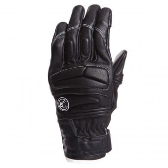 Gants Moto Bering Lady Mezia Black White