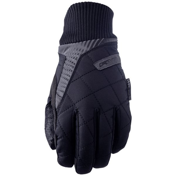 Gants Moto Five London WP Black