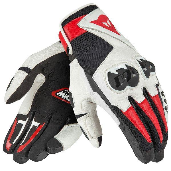 Gants Moto Dainese Mig C2 Black White Red
