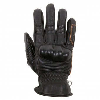 Gants Moto Helstons Monza Summer Black Brown
