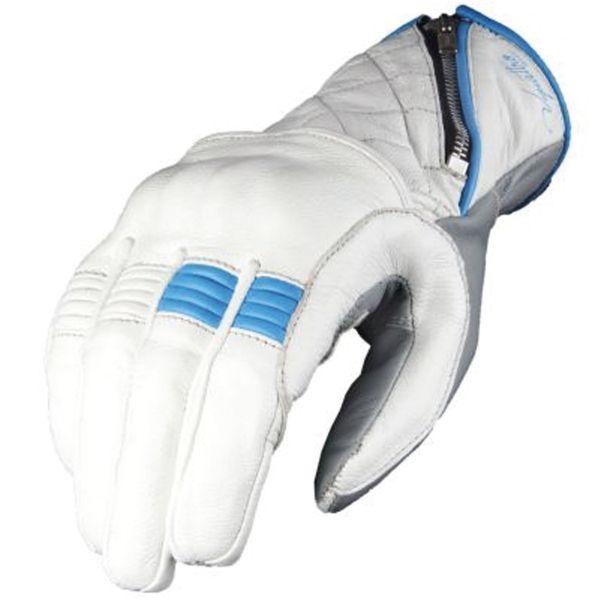 Gants Moto V'Quattro Murano White Blue
