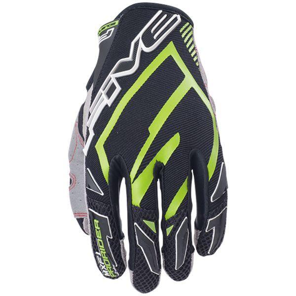 Gants Moto Five MXF Pro Rider Green