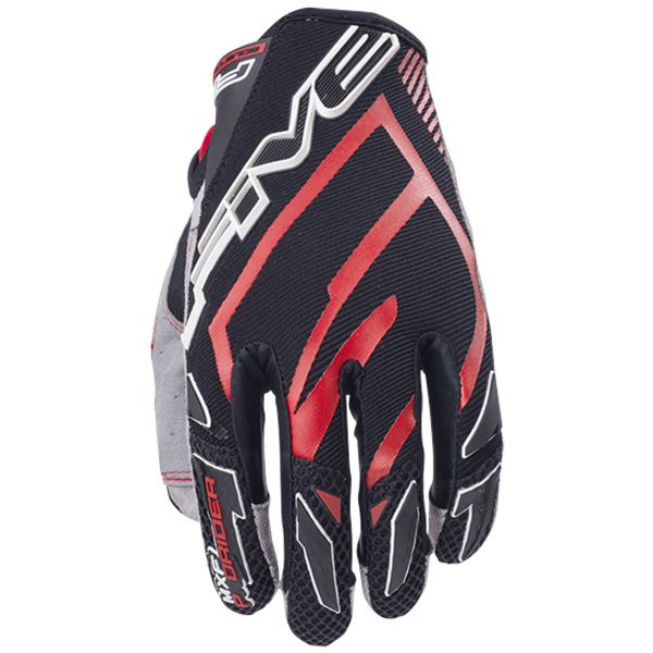 Gants Moto Five MXF Pro Rider Red