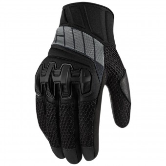 Gants Moto ICON Overlord Mesh Stealth