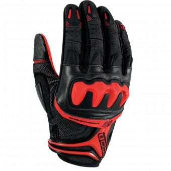 Gants Moto ICON Overlord Resistance Red