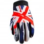 Gants Moto Five Planet Patriot England