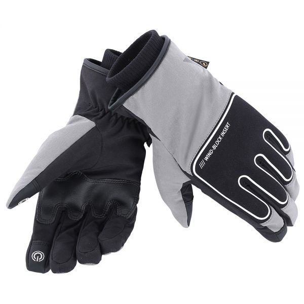 Gants Moto Dainese Plaza D-Dry Anthracite