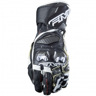 Gants Moto Five RFX Race Black White