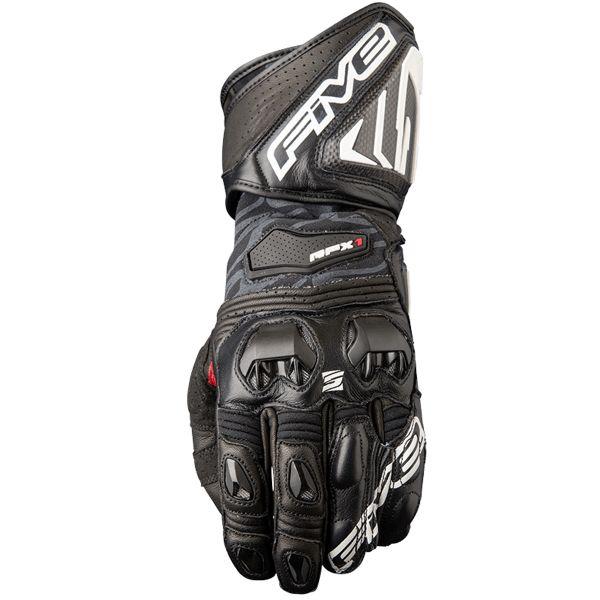 gants moto five rfx1 black au meilleur prix. Black Bedroom Furniture Sets. Home Design Ideas