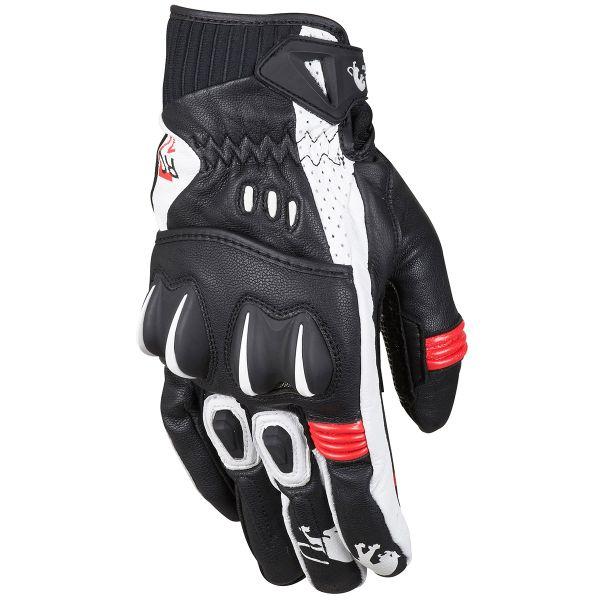 gants moto furygan rg 17 noir blanc rouge au meilleur prix. Black Bedroom Furniture Sets. Home Design Ideas
