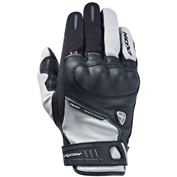 gants moto ixon rs grip hp gris noir au meilleur prix. Black Bedroom Furniture Sets. Home Design Ideas