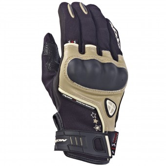 Gants Moto Ixon RS Grip Lady HP Noir Sable
