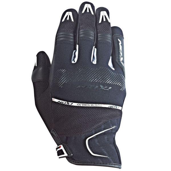 Gants Moto Ixon RS Lap Hp Black White