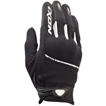 Gants Moto Ixon RS Lift HP Kid Noir Blanc