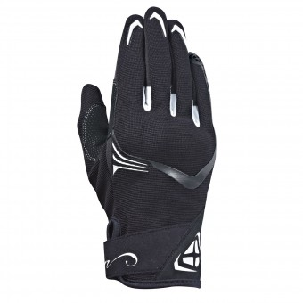 Gants Moto Ixon RS Lift Lady 2.0 Black White