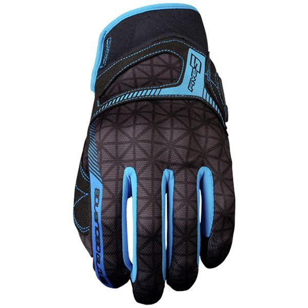 gants moto five rs3 woman diamond blue au meilleur prix. Black Bedroom Furniture Sets. Home Design Ideas