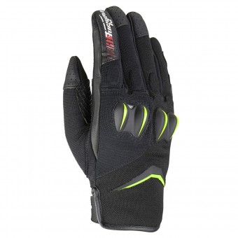 Gants Moto Furygan Sisko Black Fluo Green
