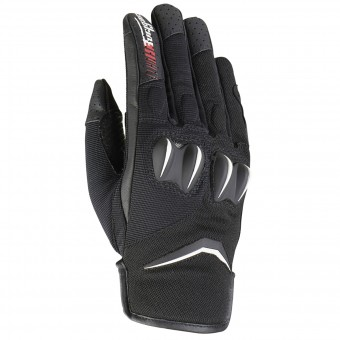 Gants Moto Furygan Sisko Black White