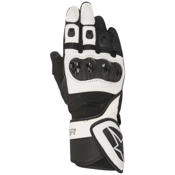 Gants Moto Alpinestars Stella SP Air Black White
