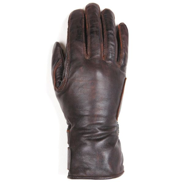 Gants Moto Helstons Stella Woman Leather Brown