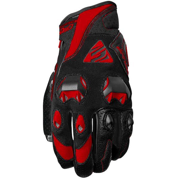 Gants Moto Five Stunt Evo Black Red