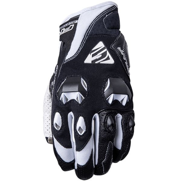 Gants Moto Five Stunt Evo Black White