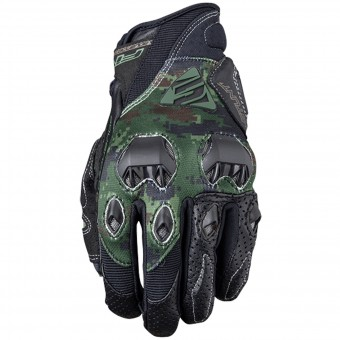 Gants Moto Five Stunt Evo Replica Army