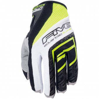 Gants Moto Five TRX Yellow Fluo