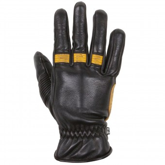 Gants Moto Helstons Velvet Summer Black Gold