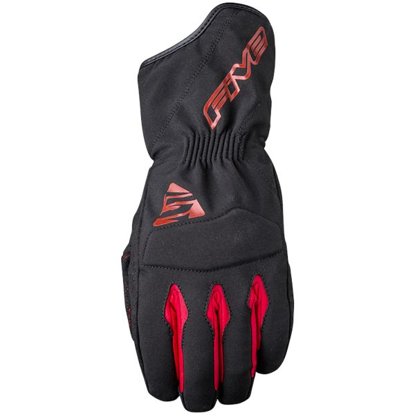 Gants Moto Five WFX3 WP Black Red